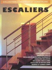 Escaliers (Escaliers Droits, A Quartiers Tournants, Balances, C - Intérieur - Format classique