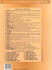 Escaliers (Escaliers Droits, A Quartiers Tournants, Balances, C - 4ème de couverture - Format classique