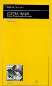 Contre-Textes - Couverture - Format classique
