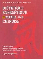 Dietetique Energetique Med. Chinoise - Ed. Comp. - Intérieur - Format classique