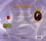 Je dessine les princesses - 4ème de couverture - Format classique