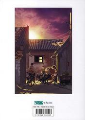 Gangs de Pékin t.1 - 4ème de couverture - Format classique
