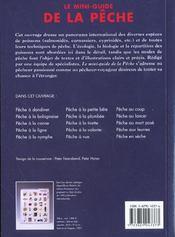 Le Petit Guide De La Peche - 4ème de couverture - Format classique