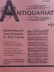 Antiquariat N°1 - Couverture - Format classique