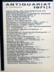 Antiquariat N°1 - Intérieur - Format classique