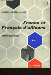 France Et Francais D'Ailleurs. - Couverture - Format classique
