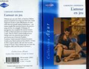 L'Amour En Jeu - The Baby Question - Couverture - Format classique