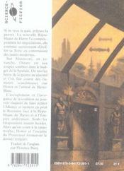 Honor Harrington t.10 ; plaies d'honneur t.1 - 4ème de couverture - Format classique
