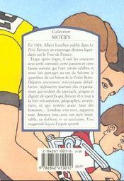 Tour De France, Tour De Souffrance - 4ème de couverture - Format classique