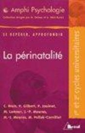 La Perinatalite - Intérieur - Format classique