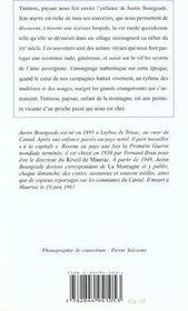 Tintinou, paysan - 4ème de couverture - Format classique