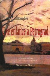 Enfance A Petrograd (Une) - Intérieur - Format classique
