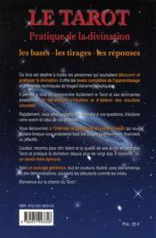 Pratique de la divination ; les bases, les tirages, les réponses - 4ème de couverture - Format classique