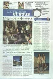 Figaro Et Vous (Le) N°21037 du 21/03/2012 - Couverture - Format classique