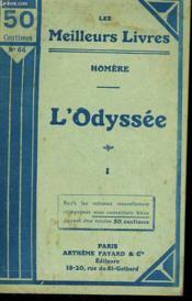 L'Odyssee Tome 1. Collection : Les Meilleurs Livres N°64. - Couverture - Format classique