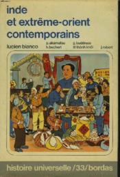 Inde Et Extreme-Orient Contemporains - Couverture - Format classique