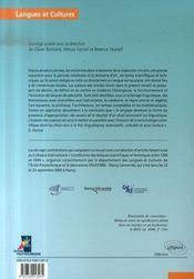 Lexiques scientifiques et techniques ; constitution et approche historique - 4ème de couverture - Format classique