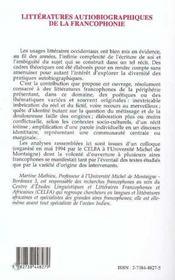 Issa Ghalil - 4ème de couverture - Format classique