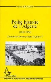 Petite histoire de l'Algérie (1830-1962) ; comment formez-vous le futur ? - Couverture - Format classique