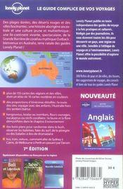 Australie (7e edition) - 4ème de couverture - Format classique