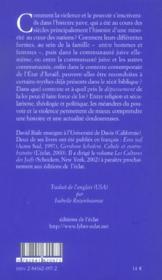 Pouvoir Et Violence Dans L'Histoire Juive - 4ème de couverture - Format classique