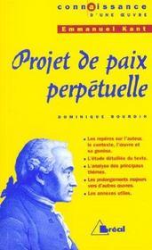 Projet de paix perpétuelle, de Kant - Intérieur - Format classique