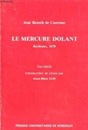 B De Cantenac ; Le Mercure Dol - Couverture - Format classique