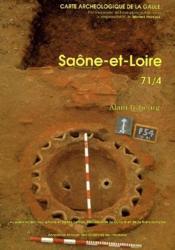 Carte Archeologique De La Gaule T.71/3 ; Saône-Et-Loire - Couverture - Format classique