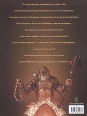 Sans dieu t.1 ; la prophétie de la phalange - 4ème de couverture - Format classique