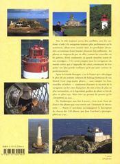 Tous les phares de France ; de la mer du Nord à la Méditerranée - 4ème de couverture - Format classique