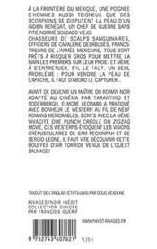 Les Chasseurs De Primes - Rn N 391 - 4ème de couverture - Format classique