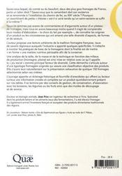 Balade au pays des fromages ; les traditions fromagères en france - 4ème de couverture - Format classique