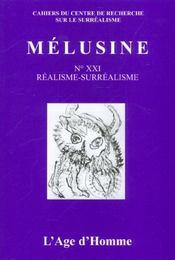 Melusine 21 Realisme-Surrealisme - Intérieur - Format classique