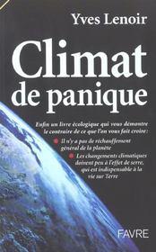 Climat de panique - Intérieur - Format classique