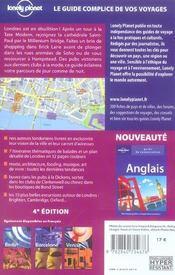 Londres (4e edition) - 4ème de couverture - Format classique
