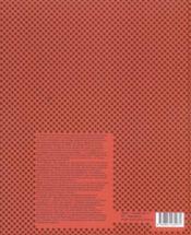 Morphosis - 4ème de couverture - Format classique