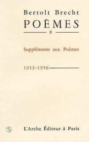 Poemes t.8 - Couverture - Format classique