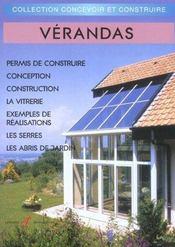 Verandas (Reglementation, Conception, Construction, Serres, Abr - Intérieur - Format classique