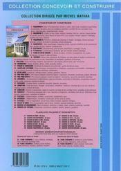 Verandas (Reglementation, Conception, Construction, Serres, Abr - 4ème de couverture - Format classique