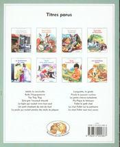 L'Oie Eugenie Et Snif Le Lapin - 4ème de couverture - Format classique