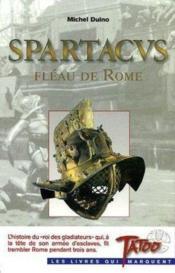 Spartacus, Fleau De Rome - Couverture - Format classique