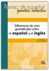 Diferencias de usos gramaticales esp ing - Couverture - Format classique
