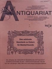 Antiquariat N°2 - Couverture - Format classique