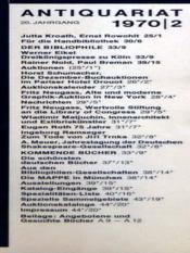 Antiquariat N°2 - Intérieur - Format classique