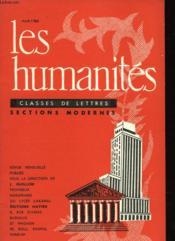 Les Humanites N°47 - Classes De Lettres - Sections Classiques - Couverture - Format classique