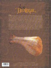 Le décalogue t.9 ; le papyrus de Kom-Ombo - 4ème de couverture - Format classique