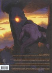 Millénaire t.2 ; le squelette des anges - 4ème de couverture - Format classique