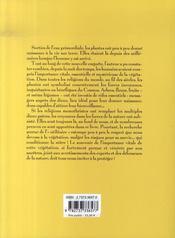 Les Plantes, Les Hommes Et Les Dieux - 4ème de couverture - Format classique