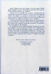 Soif Et Autres Nouvelles (La) - 4ème de couverture - Format classique