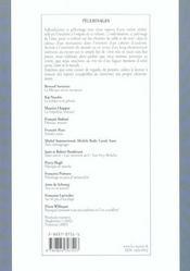 Vouivre T.11 ; Pelerinages - 4ème de couverture - Format classique